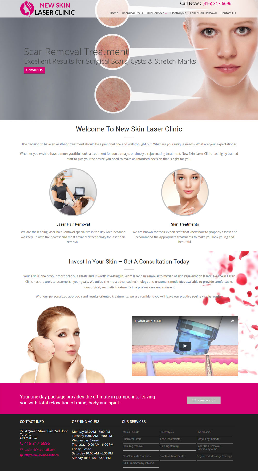 Website design Niagara