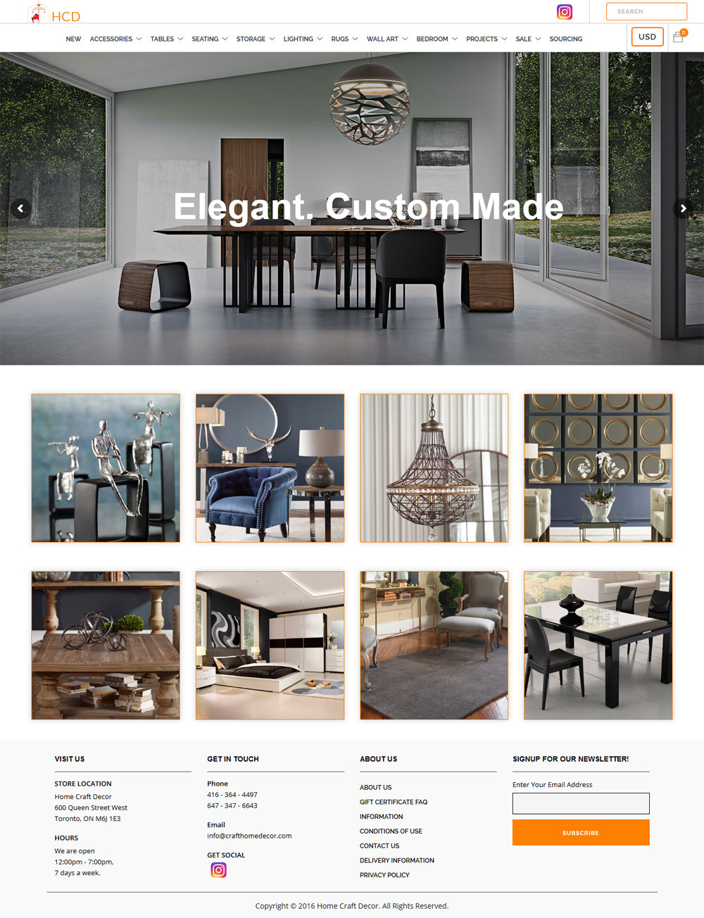 eCommerce Web design Niagara