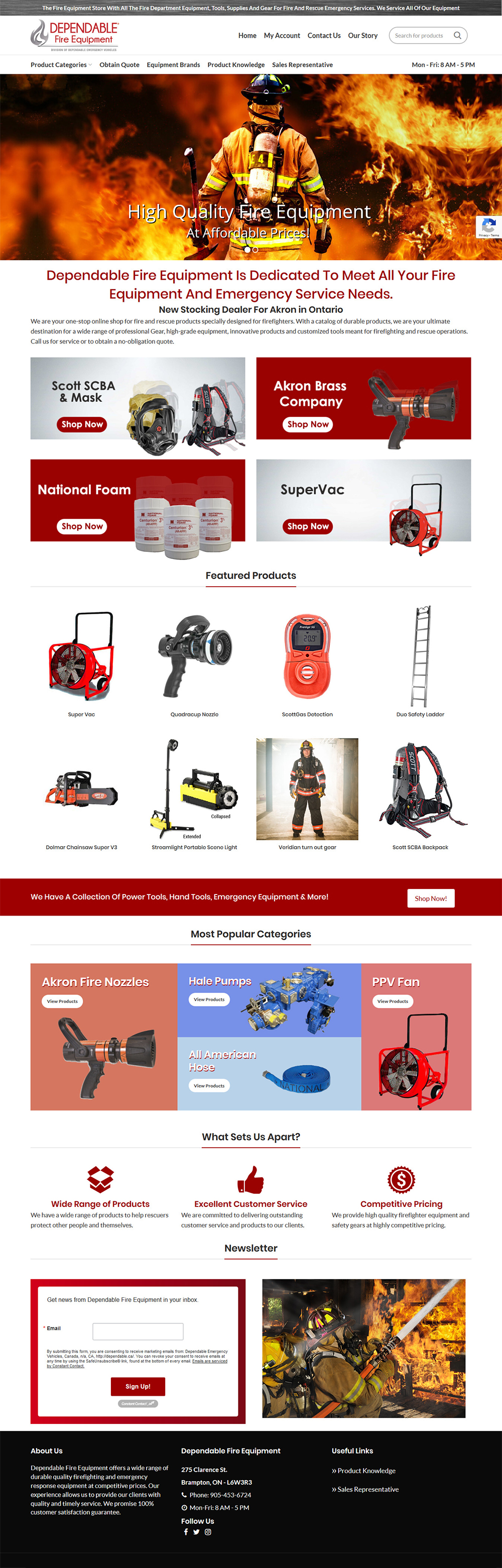 eCommerce Website Design Niagara