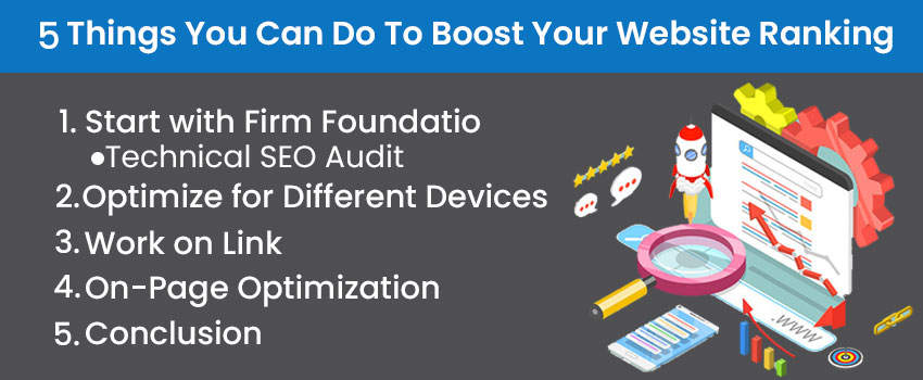 5 Things You Can Do To Boost Your Website Ranking